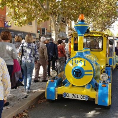 Marignane - le petit train - 17 octobre 2019