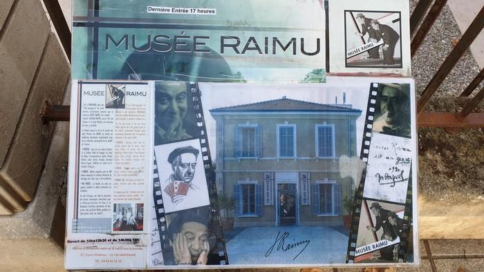 3-ANR - Marignane - musée de Raimu - 17 oct 2019
